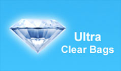 Ultra Clear Cello Bags Diamond